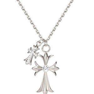Cross Long Pendant Necklace